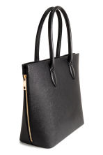 Shopper with zips - Black - Ladies | H&M 2