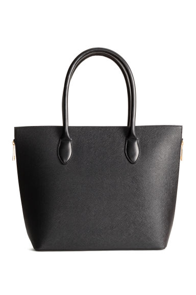 Shopper with zips - Black - Ladies | H&M 1