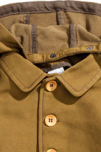 Jacket with a hood - Khaki - Kids | H&M CN 2