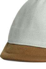 Cap with a soft peak - Mint green - Kids | H&M CN 2