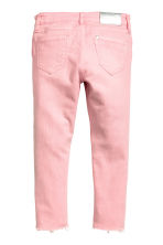Skinny Fit Worn Jeans - Washed-out pink - Kids | H&M IE 3