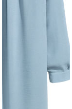 Chiffon dress - Light blue - Ladies | H&M CN 3
