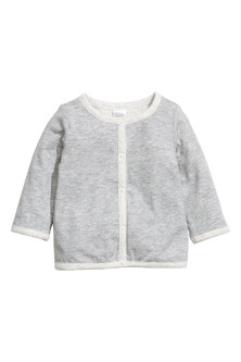 Pima cotton cardigan