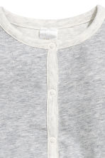 Pima cotton cardigan - Grey marl - Kids | H&M CN 2