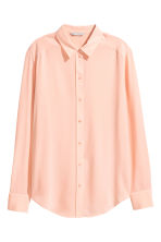 Silk blouse - Powder - Ladies | H&M 2