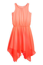 Sleeveless dress - Coral pink - Kids | H&M CN 2