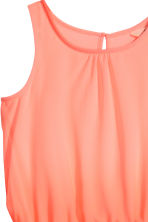 Sleeveless dress - Coral pink - Kids | H&M 3