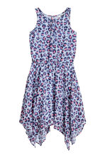 Sleeveless dress - Light blue/Patterned -  | H&M 2