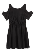 Cold shoulder dress - Black -  | H&M CN 2