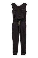 Sleeveless jumpsuit - Black -  | H&M 2