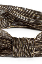 Glittery hairband - Black/Gold - Ladies | H&M CA 2