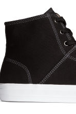 Sneakers alte - Nero - UOMO | H&M IT 5