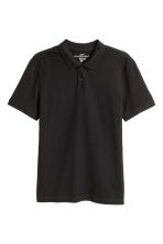 Polo shirt - Black - Men | H&M CN 2
