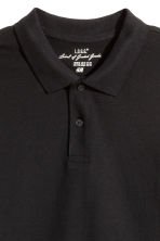 Polo shirt - Black - Men | H&M CN 3