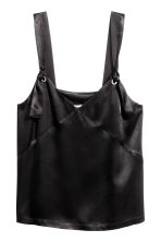 Vest top with ties - Black - Ladies | H&M 2