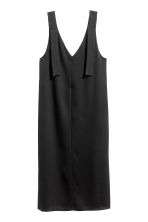 V-neck dress - Black - Ladies | H&M 2