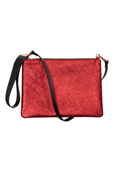 Shoulder bag - Red/Metallic - Ladies | H&M CN 1
