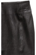 Leather pencil skirt - Black - Ladies | H&M CN 3