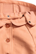 Coat with a hood - Apricot - Kids | H&M 3