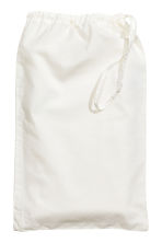 Washed cotton pillowcase - White -  | H&M CA 2