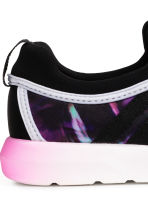 Mesh trainers - Black/Purple - Kids | H&M 4