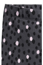 內搭褲 - Dark grey/Spotted -  | H&M 3