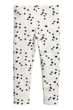 Leggings - Light beige/Butterflies -  | H&M 2
