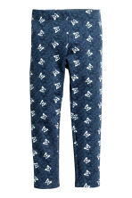 Leggings - Blue/Butterflies -  | H&M CN 2