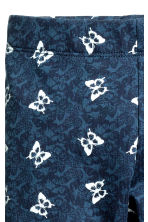 Leggings - Blue/Butterflies -  | H&M CN 3