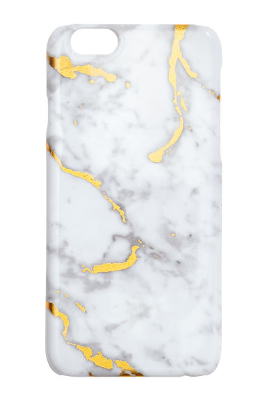 Cover per iPhone 6/6s - Bianco/marmorizzato - DONNA | H&M IT 1