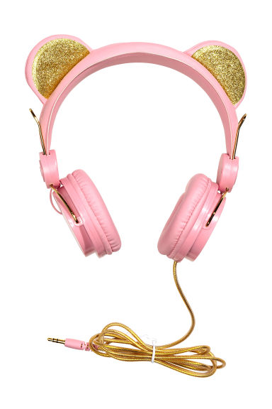 On-ear headphones - Light pink - Kids | H&M CN 1