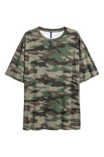 Patterned T-shirt - Khaki/Patterned - Men | H&M 2