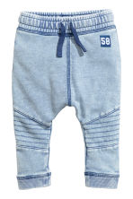 Washed joggers - Blue washed out - Kids | H&M CN 1