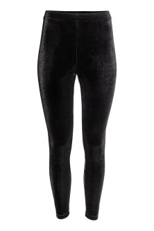 Legging en velours