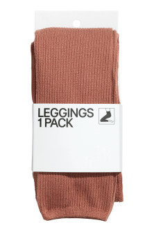 Gerippte Leggings