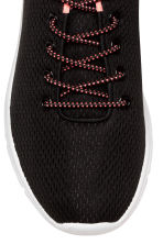 Mesh trainers - Black -  | H&M 4