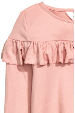 Frilled top - Dusky pink - Kids | H&M CA 3