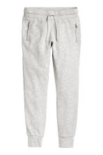 Joggers - Light grey marl - Ladies | H&M 3
