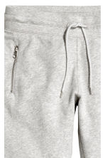 Joggers - Light grey marl - Ladies | H&M 4