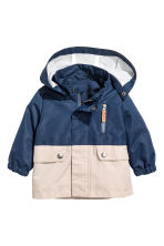 Outdoor jacket - Dark blue - Kids | H&M 1