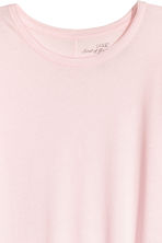 Long-sleeved top - Light pink - Ladies | H&M 3