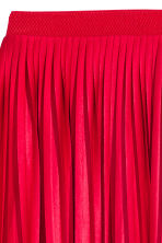 Pleated skirt - Red - Ladies | H&M CN 3