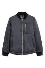 Bomber jacket - Black - Kids | H&M 2