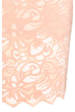 Lace pencil skirt - Powder - Ladies | H&M CN 3
