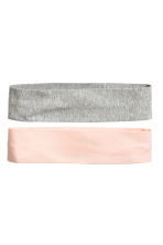 2-pack hairbands - Grey/Powder - Ladies | H&M 1