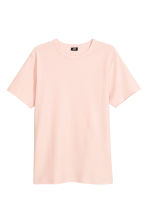 Cotton piqué T-shirt - Light apricot - Men | H&M IE 2