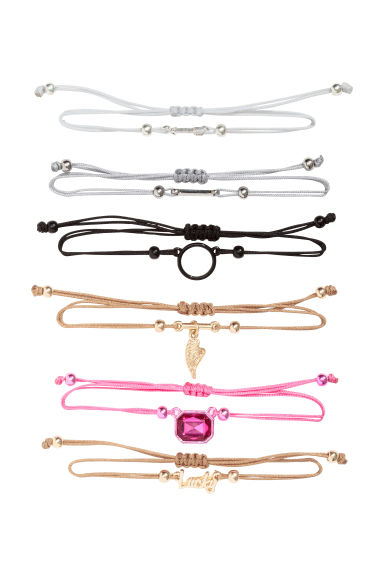 6-pack bracelets - Multicoloured - Ladies | H&M CN 1