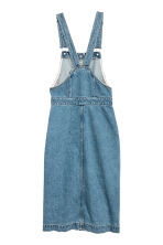 Denim dungaree dress - Denim blue - Ladies | H&M GB 3