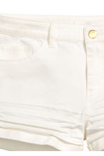 Twill shorts - White - Ladies | H&M 3