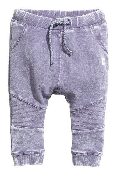 Pantalon de style motard - Mauve washed out - ENFANT | H&M FR 1